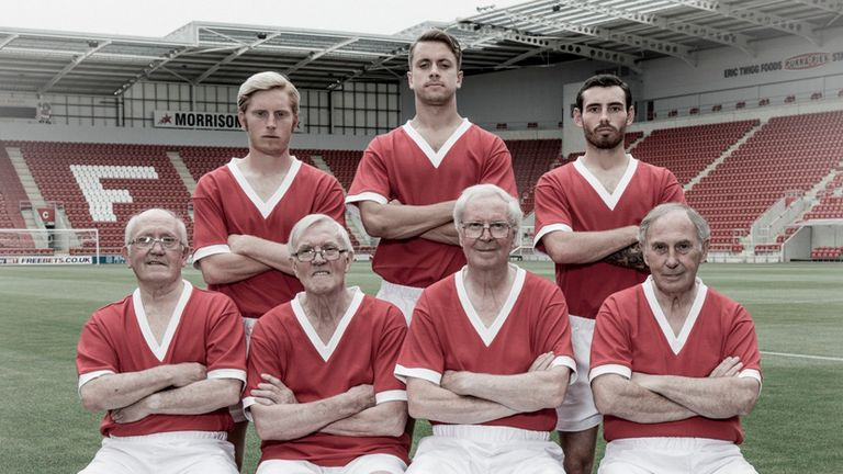 Rotherham stars of the current day met some of their 1961 predecessors