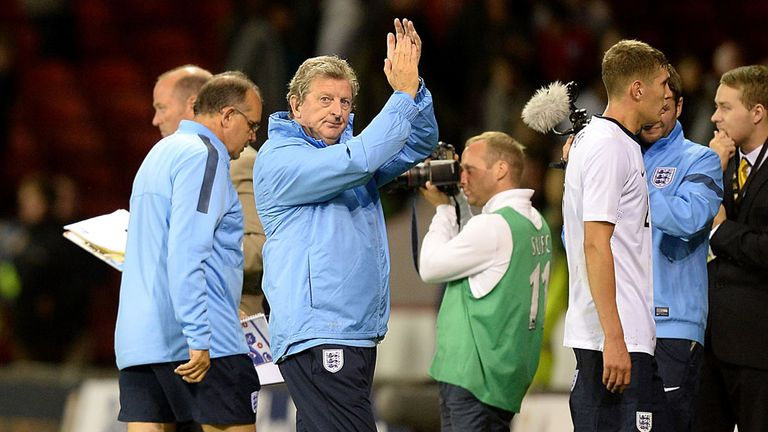 Roy Hodgson: Took charge of the U21 side for a 6-0 victory