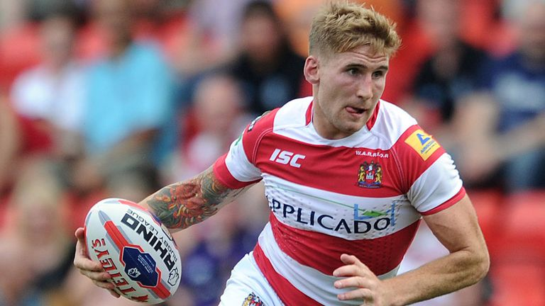 Sam Tomkins: Aiming high before heading Down Under?