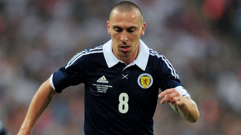 Scott Brown: Insists that the future is bright for Scotland