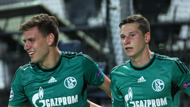 Julian Draxler: Believes Schalke can beat Bayern