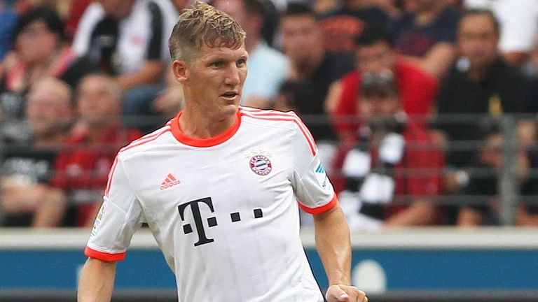 Bastian Schweinsteiger: Recovering from ankle injury