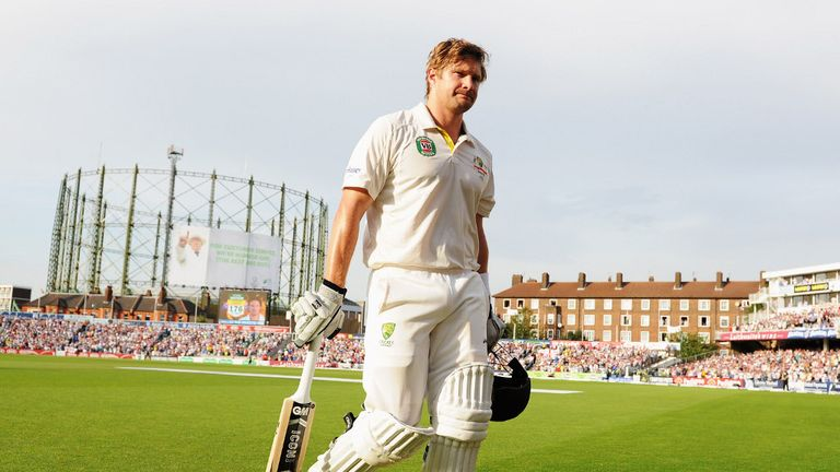 Shane Watson stole the headlines on day one with a superb century