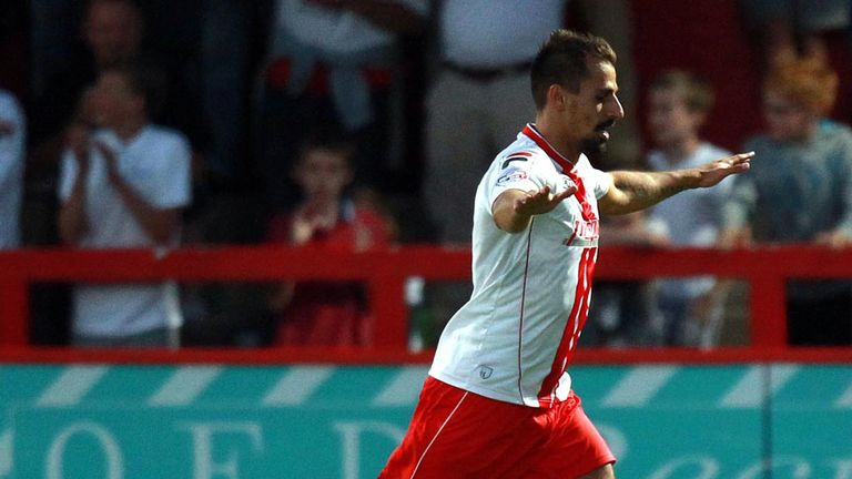 Filipe Morais: Broke the deadlock as Stevenage beat Ipswich