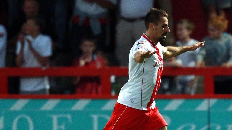 Filipe Morais: Broke the deadlock as Stevenage beat Ipswich