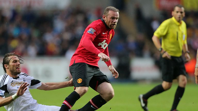 Wayne Rooney: The striker could start against Chelsea