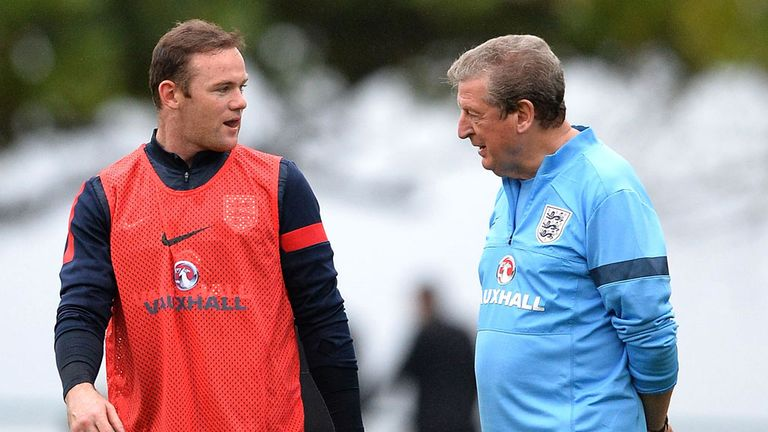 Roy Hodgson: Backing for Wayne Rooney