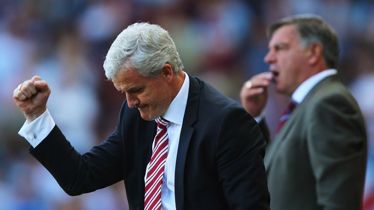 Mark Hughes: Hails his Stoke side