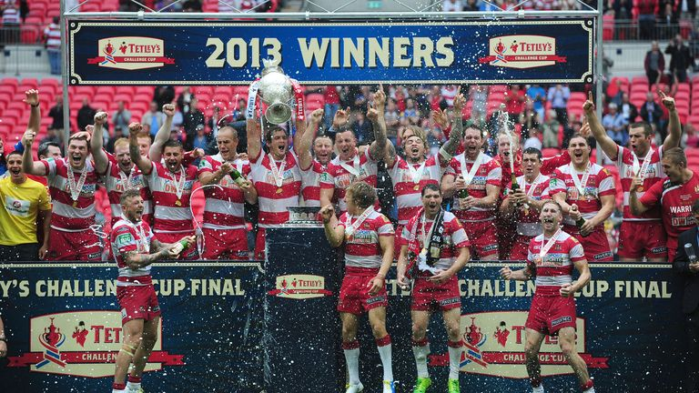 Wigan Warriors: Reigning champions will enter competition in the fourth round