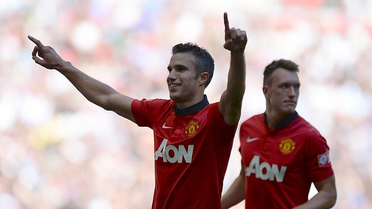 Robin van Persie: Has burst out of the scoring blocks in 2013/14