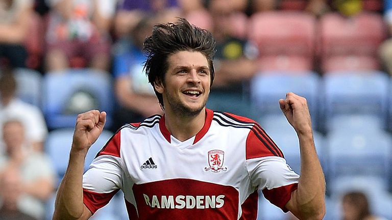 A Friend in need: Middlesbrough defender George Friend requires defensive help, says Beags