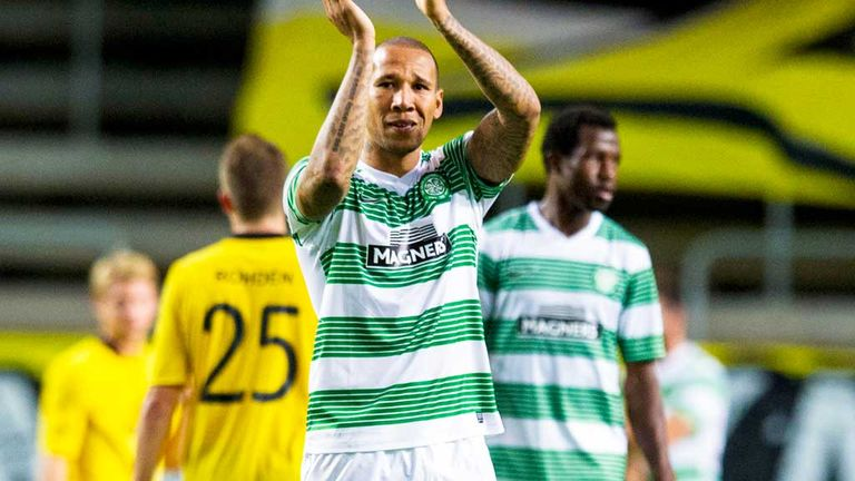 Kelvin Wilson: Celtic defender appears to have played his last game for the club against Elfsborg