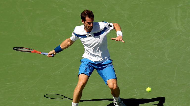 Andy Murray: Was an easy winner in the second round of the Cincinnati Masters