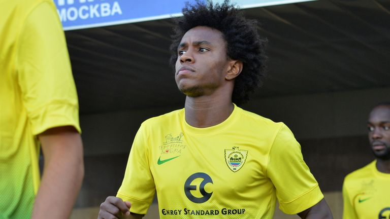 Willian: Five year deal with Chelsea