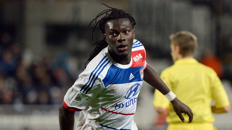 Bafetimbi Gomis: Could be set to sign a new deal with Lyon