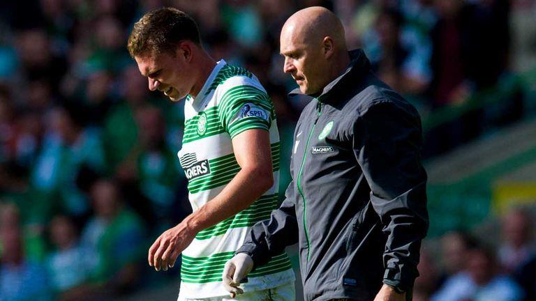 Derk Boerrigter: Limps off against Ross County on his Celtic debut