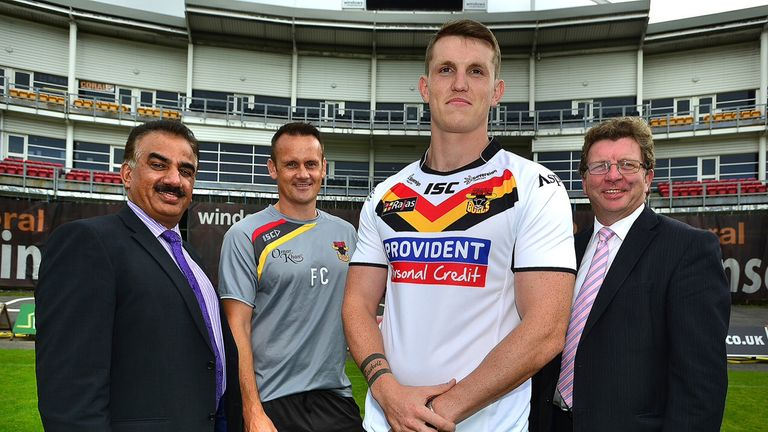 Lee Gaskell: Finding his feet at Bradford after playing for two teams in 2013
