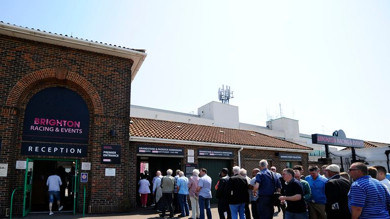 Brighton proves a popular draw for racegoers.