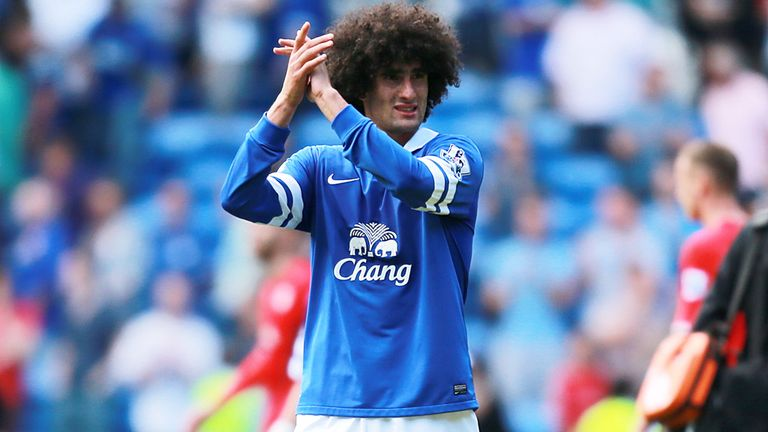 Marouane Fellaini: Transfer request