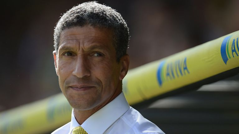 Chris Hughton: Calm despite poor start for Norwich