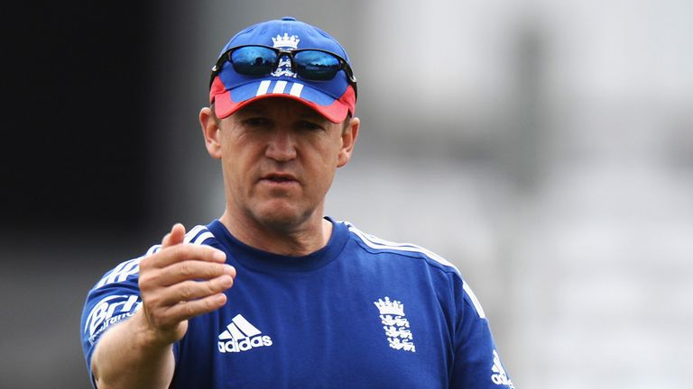 Andy Flower: Took over as England head coach in April 2009