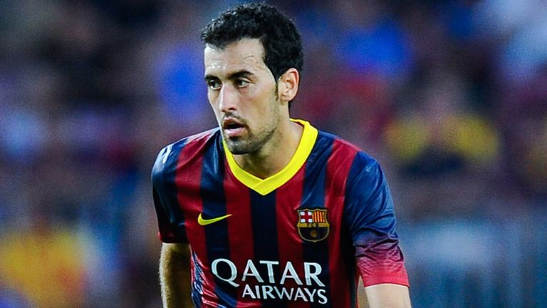 Sergio Busquets: Set to sign an extension at Barcelona