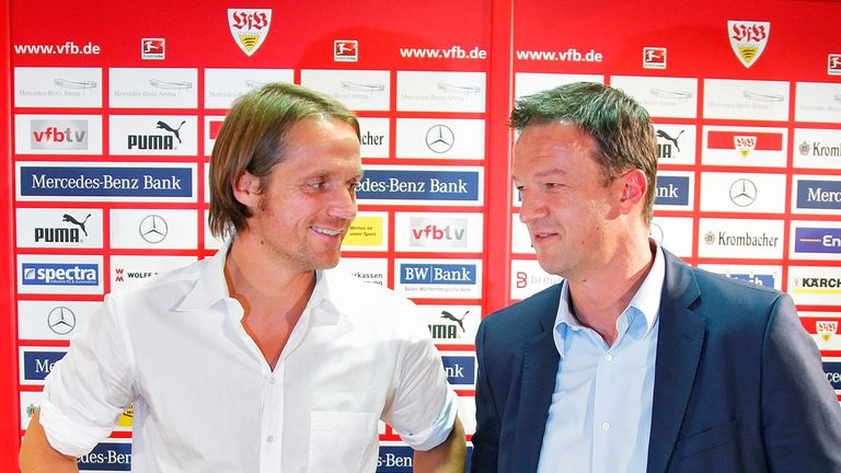 Thomas Schneider: Presented as new head coach at Stuttgart