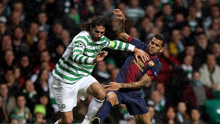 Celtic beat Barcelona at home in the group phase last season