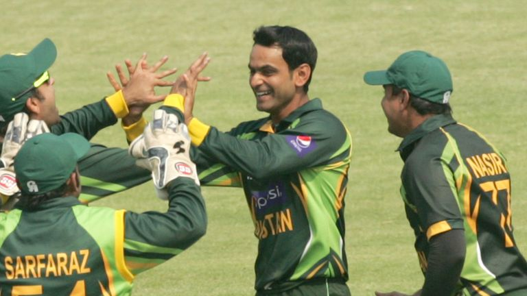Mohammad Hafeez: Back in the Pakistan squad for ODIs against South Africa