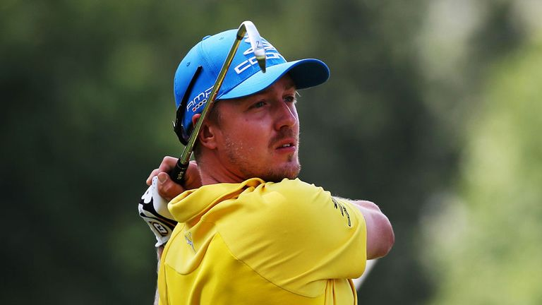 Jonas Blixt: Sights set firmly on Ryder Cup place