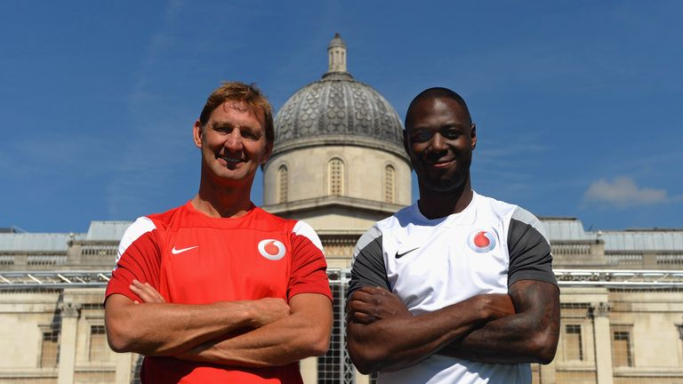 Speaking at the launch of Vodafone 4G, Tony Adams and Ledley King deliver their verdicts