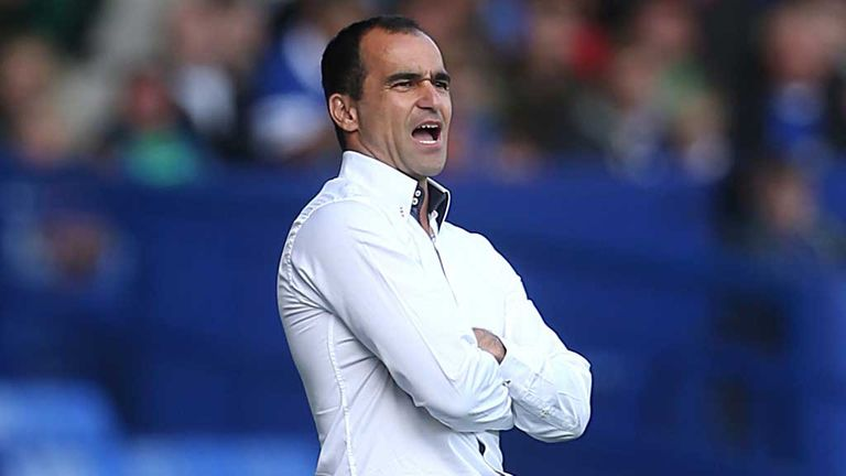 Roberto Martinez: Sees another chance go begging for Everton