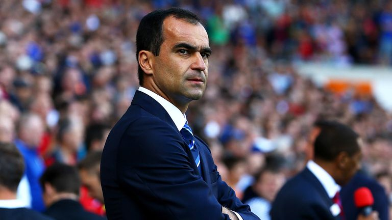 Martinez: enjoyed first win as Everton boss