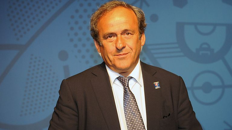 Michel Platini: UEFA president wants 2022 World Cup to be played in January