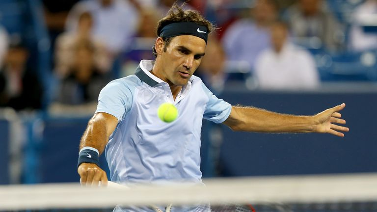 Roger Federer: improved career record against Tommy Haas to 12-3 with third-round win in Cincinnati