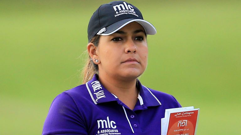 Lizette Salas: Three clear with 18 holes to play