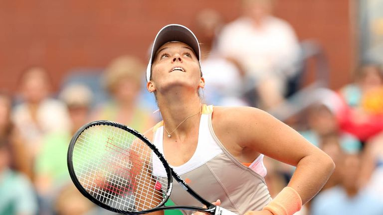 Looking up: Laura Robson and British tennis are off to a flyer.