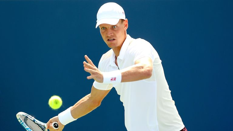 Tomas Berdych: Czech improved his lead in career head-to-head with Andy Murray to 6-4