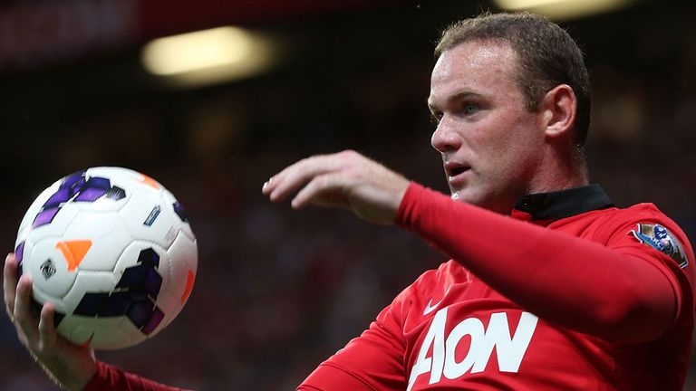 Wayne Rooney: Challenged to become a Manchester United legend