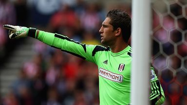 Maarten Stekelenburg: Holland international is back between the posts for Fulham