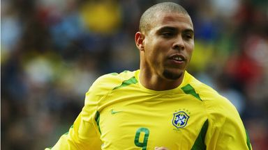 Brazilian legend Ronaldo (right) retired from football in 2011