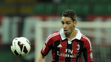 Mattia De Sciglio: AC Milan full-back has suffered a knee injury
