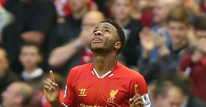 Raheem Sterling: Hoping to impress manager Brendan Rodgers in training.