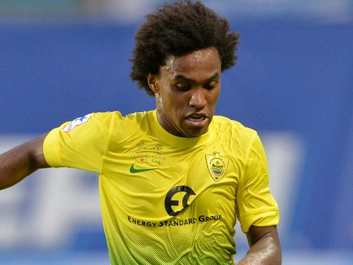 Willian: Joins Chelsea on a five-year deal