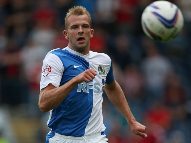Jordan Rhodes: Scored twice for Blackburn