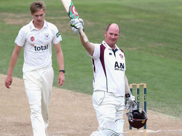 David Sales: Hit an unbeaten 66 for Northants