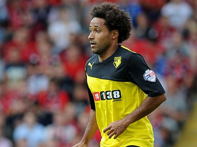 Ikechi Anya: Scored a fine goal in Watford's emphatic win