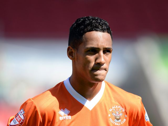 Tom Ince: Got the winner for Blackpool