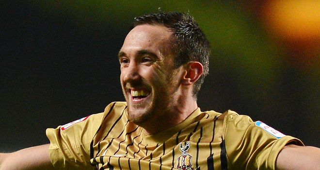 Rory McArdle: Secured a point for Bradford