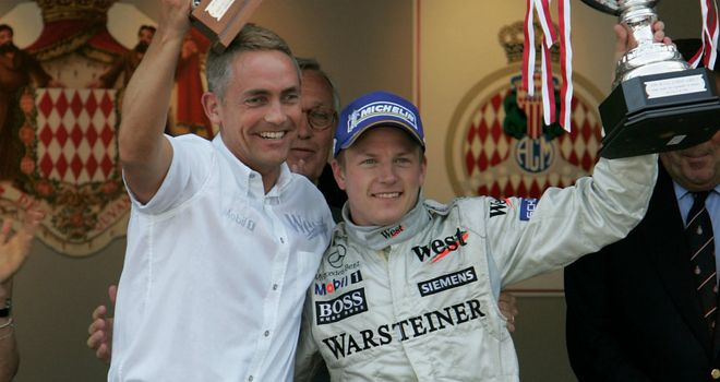 Martin Whitmarsh: Still a 'fan' of Raikkonen after the Finn's days at McLaren